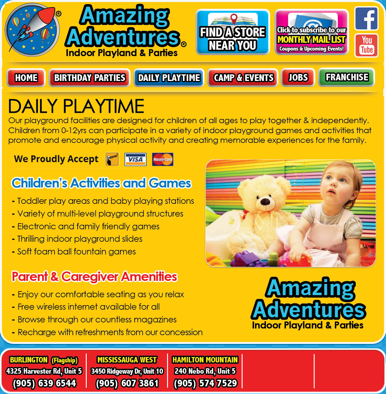 Amazing Adventures Playlands Now 3 Locations And Counting